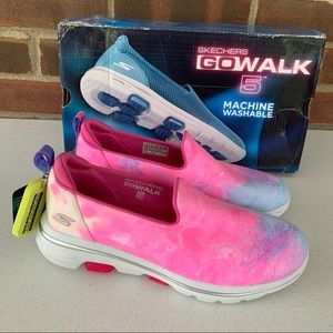 Skechers gowalk 5 chroma slip on comfort shoes